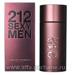 парфюм Carolina Herrera 212 Sexy Men