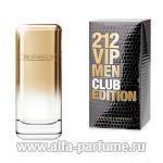 парфюм Carolina Herrera 212 VIP Men Club Edition