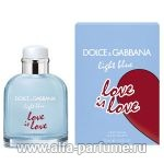 парфюм Dolce & Gabbana Light Blue Love Is Love Pour Homme