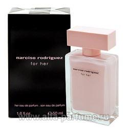 Narciso Rodriguez For Her Eau De Parfum - купить туалетную воду, парфюмерные духи Нарциссо Родригес Фор Хе О Де Парфюм в интернет-магазине по низкой цене в Москве, отзывы об аромате в Альфа-Парфюм